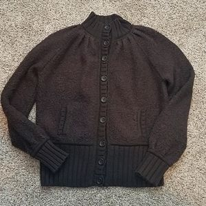 Moda International bomber sweater